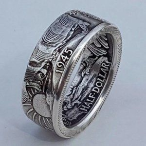 Coin Morgan Ring United Statement Ring